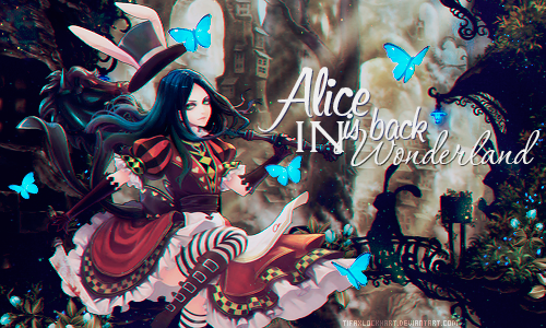 Sign. - Alice is back by TifaxLockhart