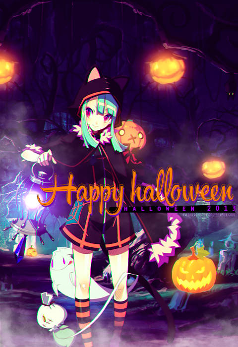 Happy halloween 2013! by TifaxLockhart