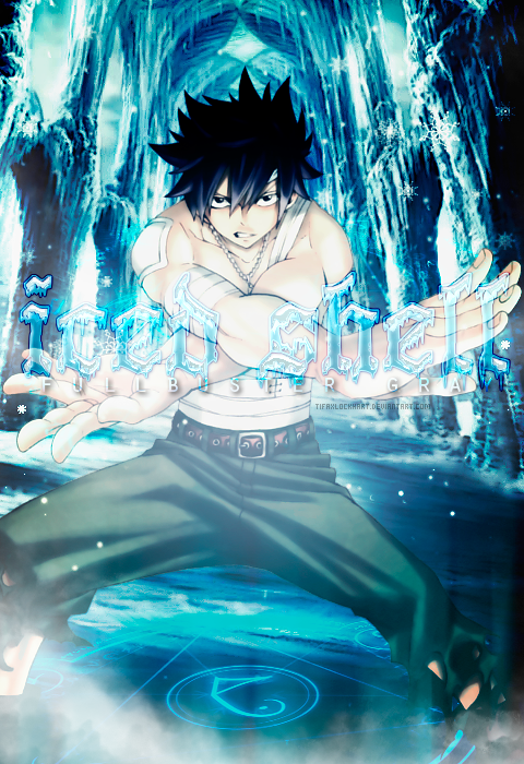 gray fullbuster ice gray fullbuster iced shell by usunk on
