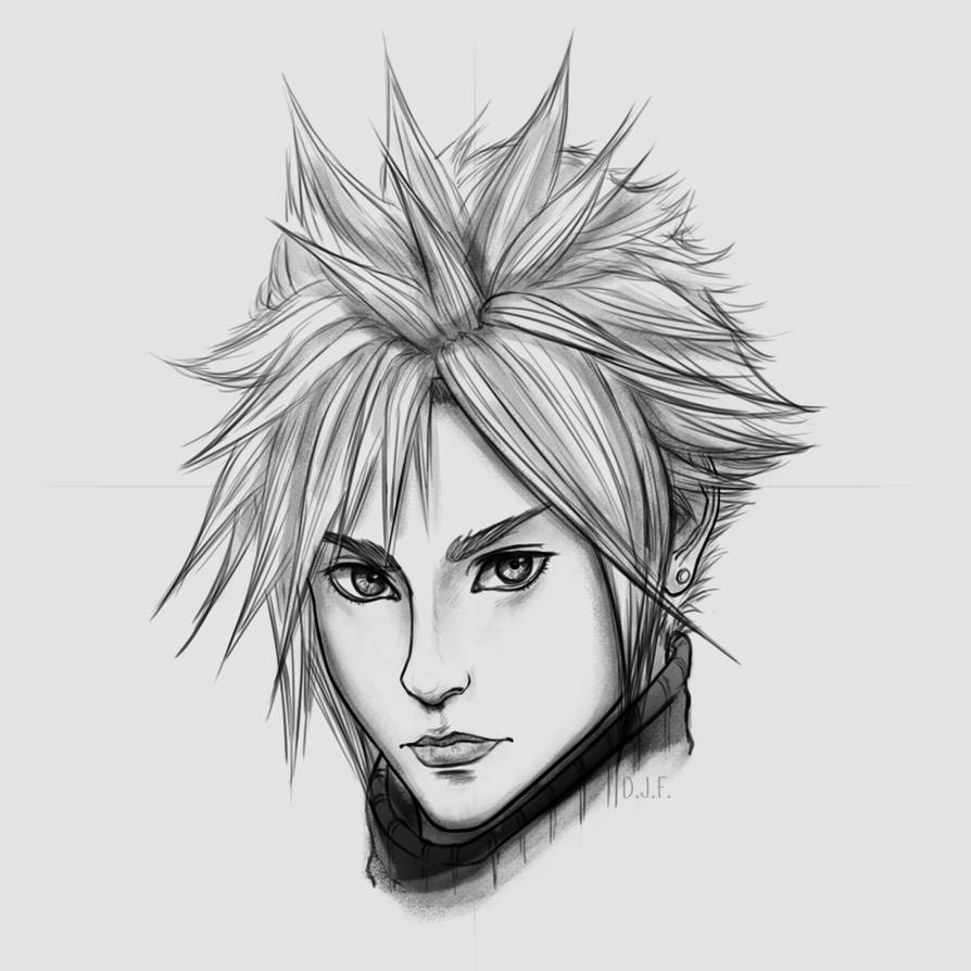 FFVII Remake - Cloud Strife