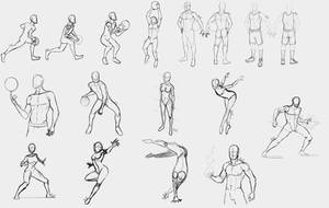 Poses compilation