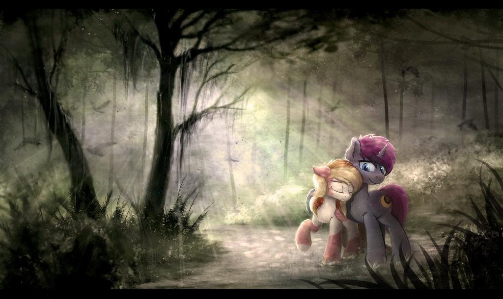 Forest walk by Breakdream