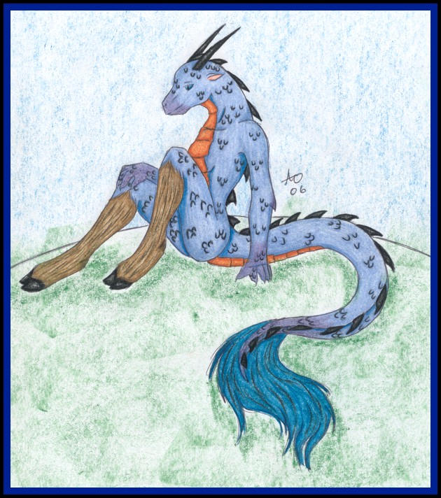 Unique Dragon by Tauvuranu