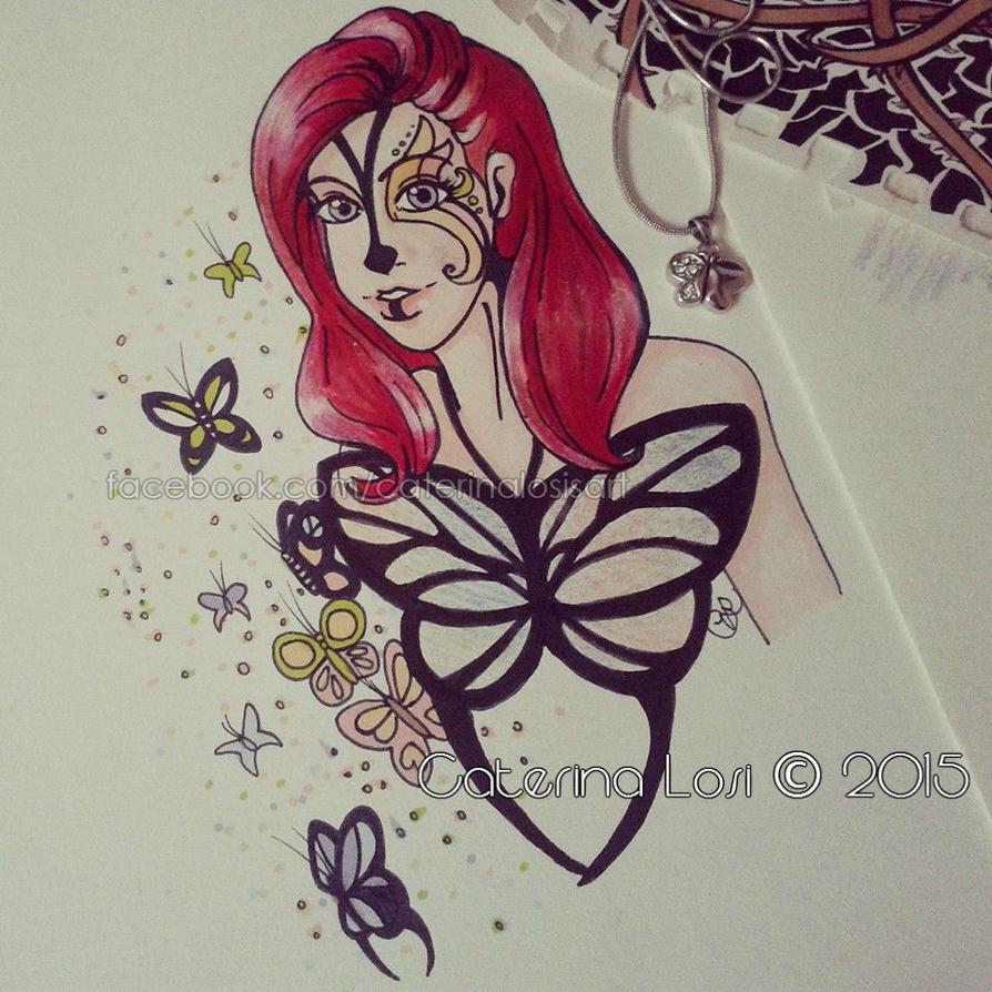 Butterflies by EridiaErin