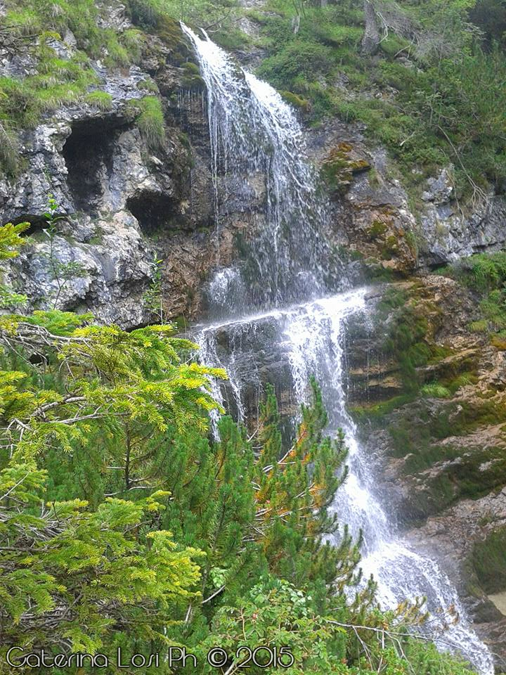 Cascate Alte, Vallesinella by EridiaErin