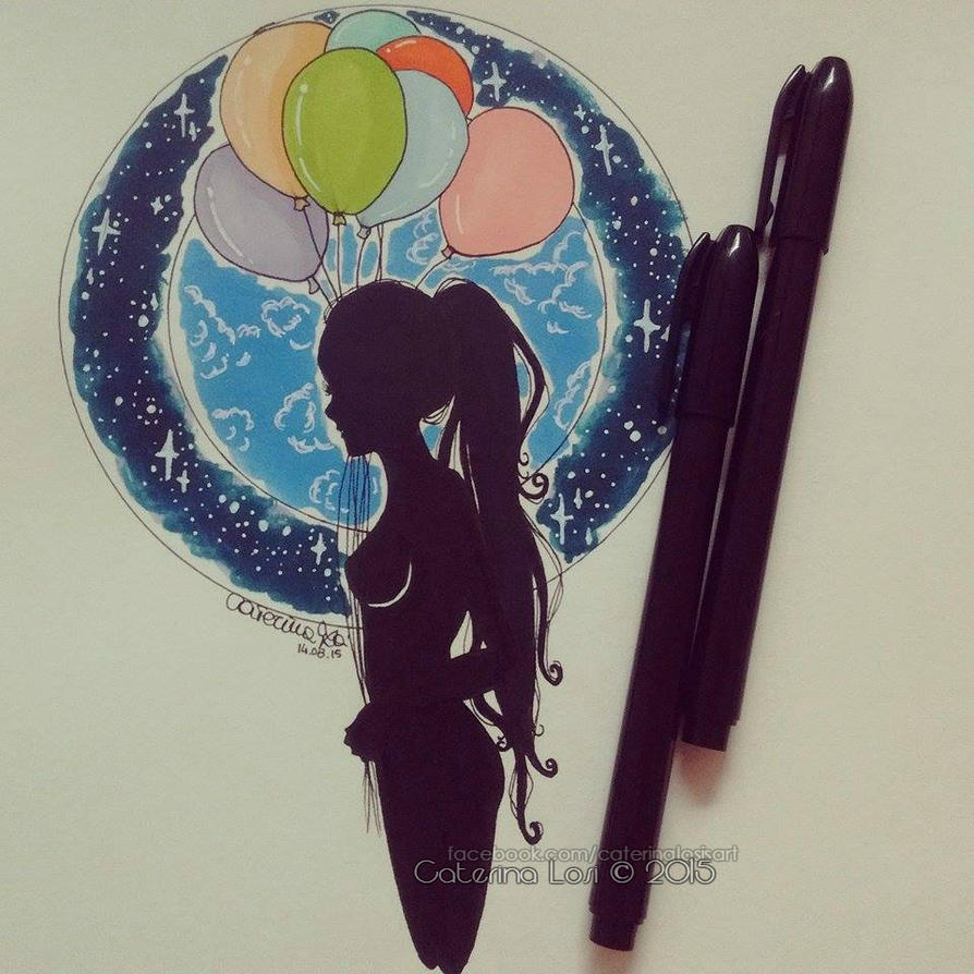 Balloons by EridiaErin