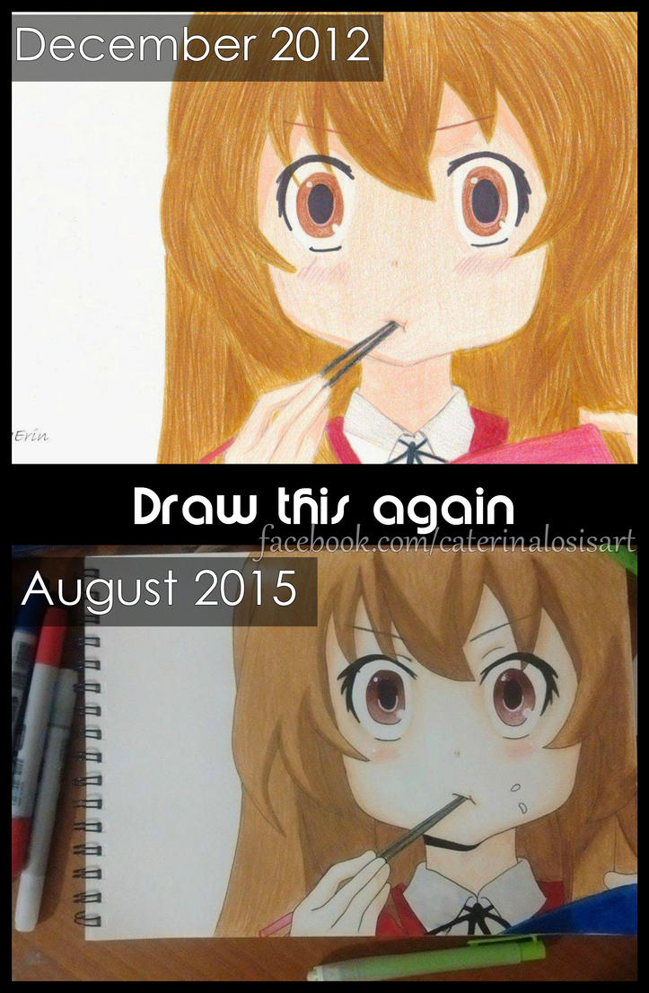 Taiga - Draw this again by EridiaErin