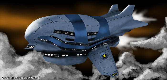 Spaceship 0 by ucok-zs