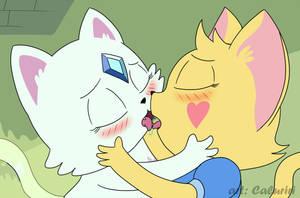 Magical Kitten Love by caluriri