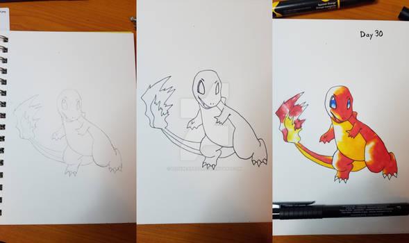 Inktober 2017 - Day 30, OG Pokemon Day