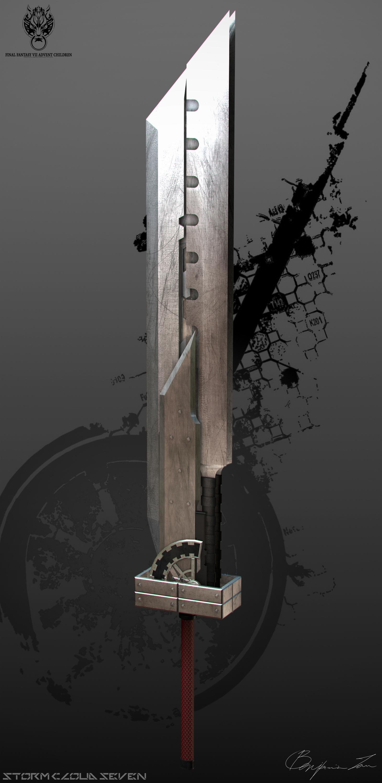 Cloud's Sword - Tsurugi by StormCloudSeven