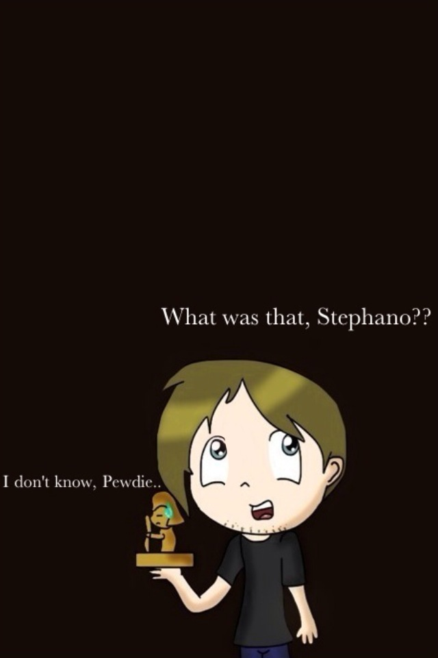 PewDiePie and Stephano by KadieKat