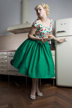 Happy Housewife Dress by Lottifant