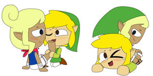 Tetra and Link uwu