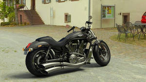 Harley V Rod 3D by LoByteSo