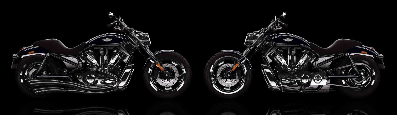 Harley VRod final 3D