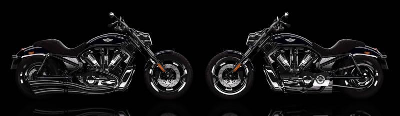 Harley VRod final 3D by LoByteSo