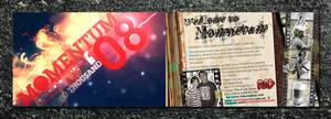 Momentum'08 flyer by brucebah