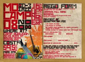 Momentum Camp 08 rego form by brucebah