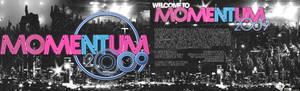 Momentum '09 flyer