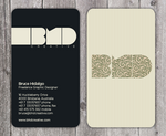 BHD Design business card