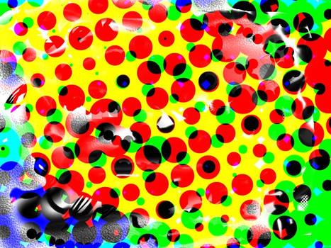 OC: Colors, Chaos, Dots