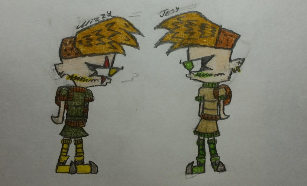 Mizzy and Jasy (Kids version) by JammxRebinson