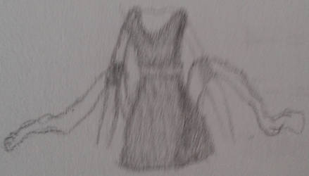 Art out of boredom: A dress