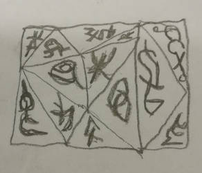 Art out of Boredom: A Slab of Runes