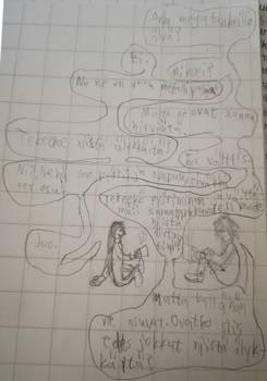 Lyokostar: Two dudes talking philosophically