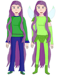 Winx: The Path of Mysteries OC: Iridia season 1 by WindySilver