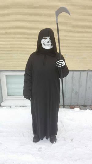 Me as a Grim Reaper