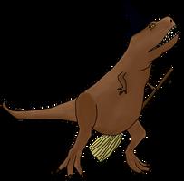 A Witch T-Rex for GDeyke