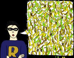 Captain Redundancy Fanart: 500 Bananas