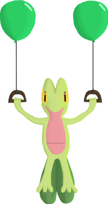 Balloon Treecko for Charity