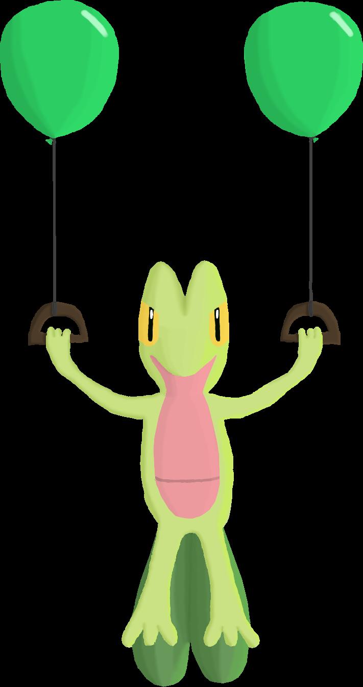 Balloon Treecko for Charity