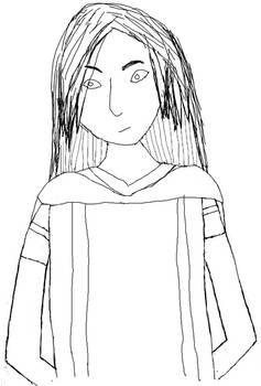 Lyokostar1: Sophie Flowerpark (Lyoko form1) Sketch