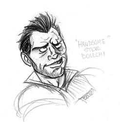 Character Study  Handsome Steve by LukeCSantiago