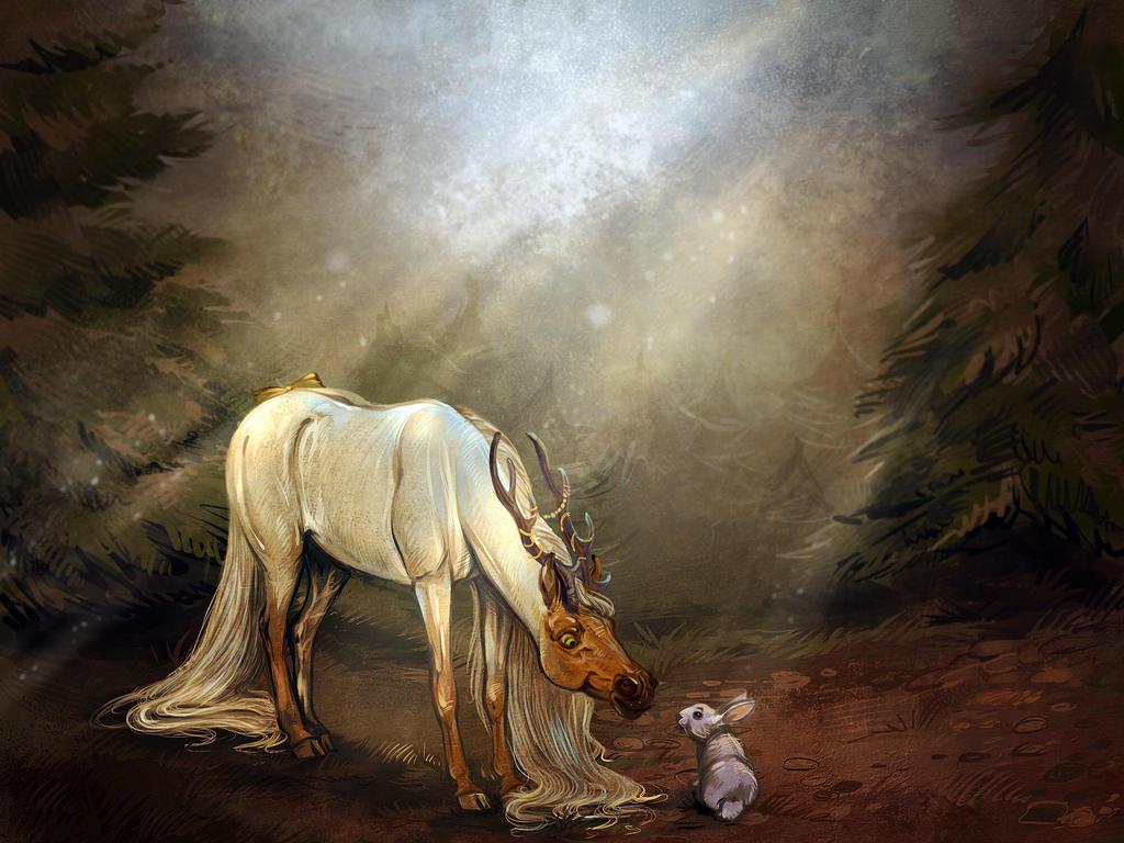 Hey sweet little fellow you're not alone here! by Araxel