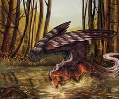 Miracle of the swamp by Araxel