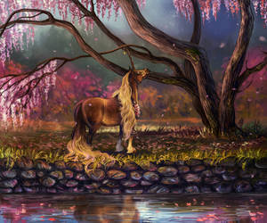 I met cherry in blossom once I got into fairytale by Araxel