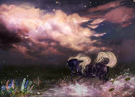 So beautiful and so lonely tonight by Araxel
