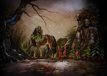 The place of ancestors by Araxel