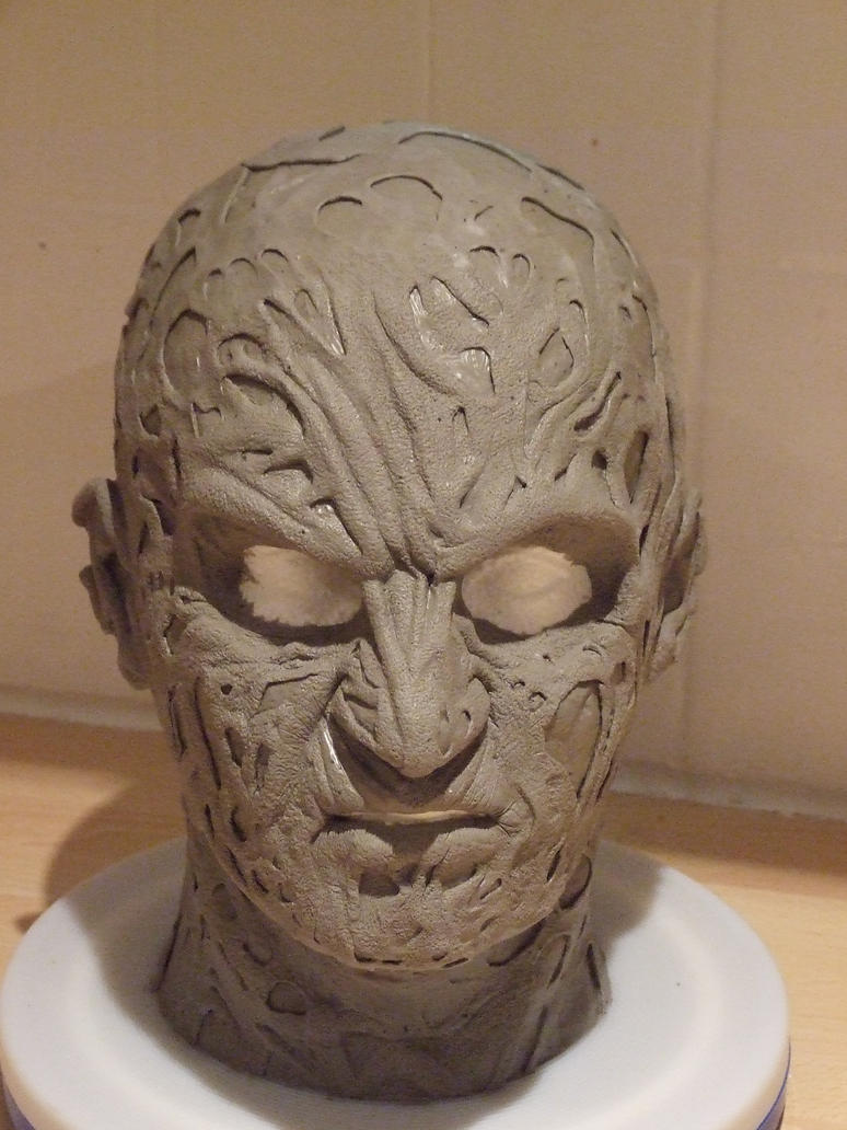 Freddy Krueger Sculpt 021 by Quagmire9 on DeviantArt