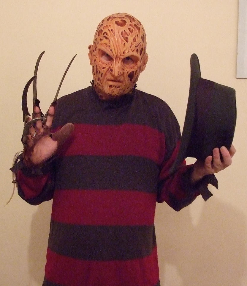 Freddy Krueger Silicone Mask 1 by Quagmire9 on DeviantArt