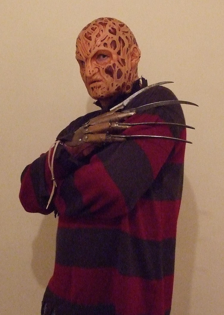 Freddy Krueger Silicone Mask 2 by Quagmire9 on DeviantArt