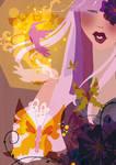 Eden in her garden by OhAnneli
