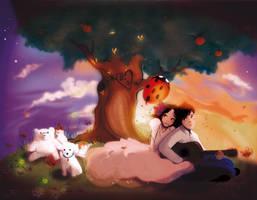 freelance work by OhAnneli