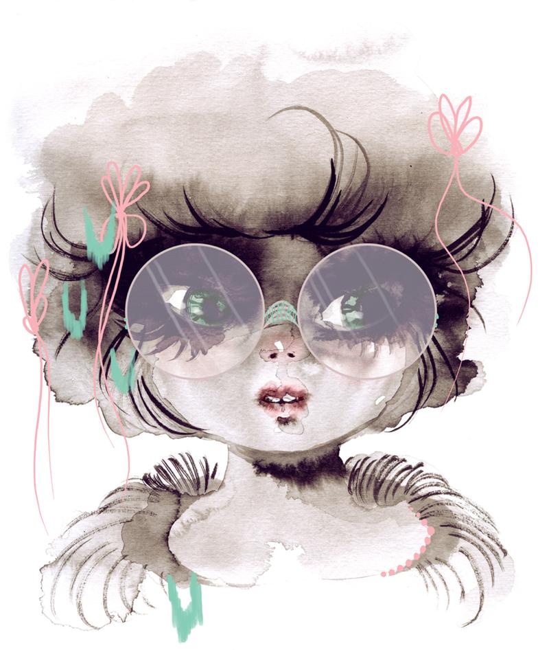 The Nerdy Girl by OhAnneli