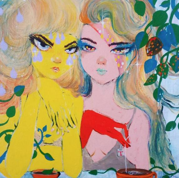 Lemon Tea, Fruity Tea by OhAnneli